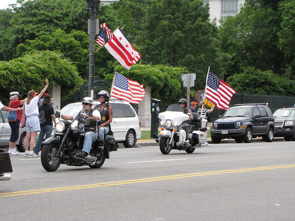 Washington, DC - Memorial Weekend - Rolling Thunder