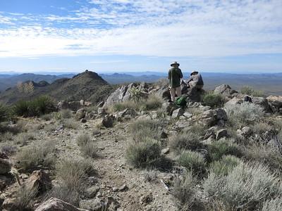 McCracken Mtns, Peak 3926 - Feb. 29, 2020