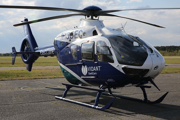 Vidant East Healthcare 2009 Eurocopter Deutschland GMBH EC-135 T2+, Norfolk, 18Apr21