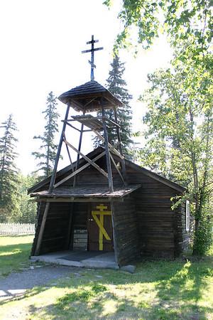 7/3/06 - Athabascan spirit houses - Eklutna, AK