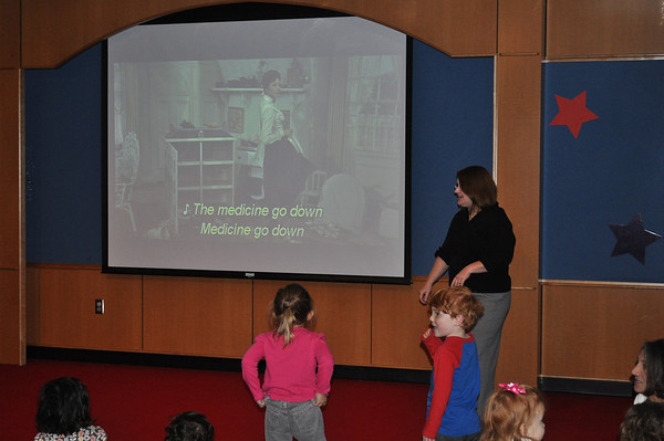 Mary Poppins Movie Sing Along 2011