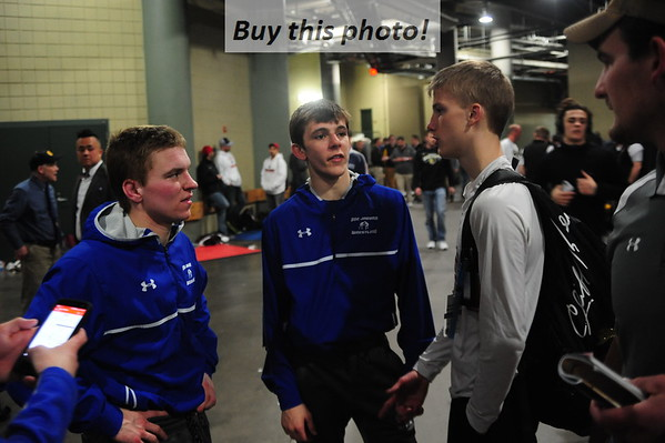 BBE wrestling at STATE 03-02