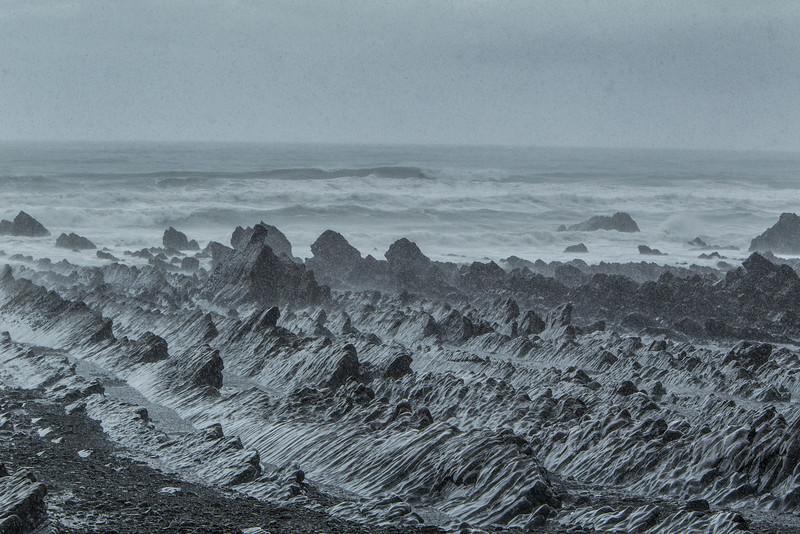 Rocks in the Rainstorm