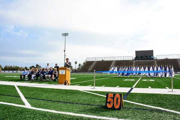 NHHS Davidson Field Ribbon-Cutting Ceremony