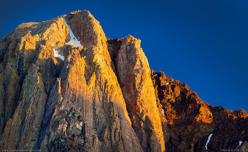 Mt Morrison Eiger of the Sierra Nevada Mountain Range
