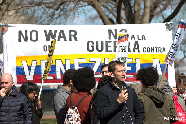 National March on the White House: U.S. Hands Off Venezuela!