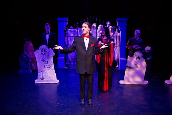 Parks Theatre - Addams Family Jr - It Cast