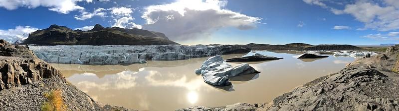 Svinafellsjokull - the wide view