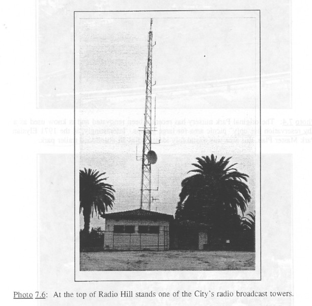 1990, City's Radio Tower