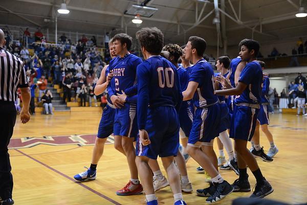 Drury boys basketball vs. Baystate Academy - 030720