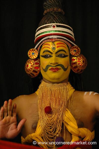 Lord Shiva in a Kathakali Performance - Kochi, India