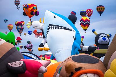 Interntional Balloon Festival, Albuquerque, NM
