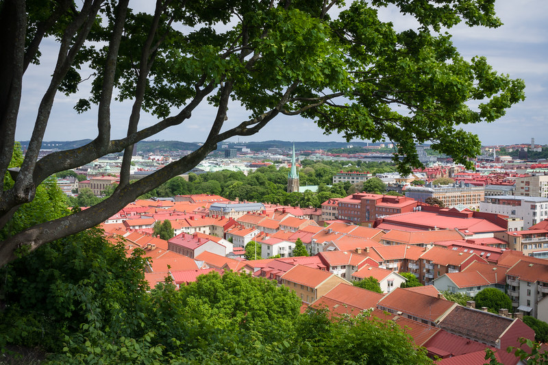 View Over Haga, Gothenburg, Sweden
