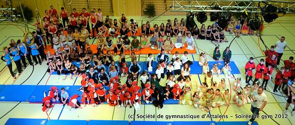 Soirée de gym 2012 - Attalens
