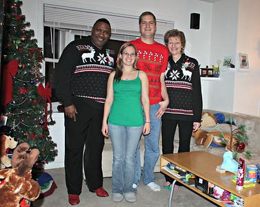 20131225 Christmas is in the Banakis Streamwood TARDIS (Chris & Nicole's)