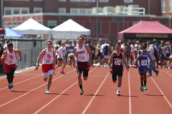 100m - 2013 Outdoor MSTCA Freshman Sophomore Meet -- Large School