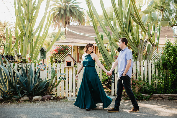 Tamara and John | San Juan Capistrano Engagement