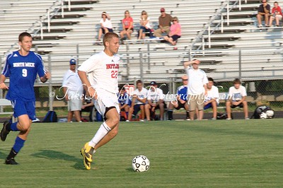 2010-08-24 BHS Soccer VS North Meck