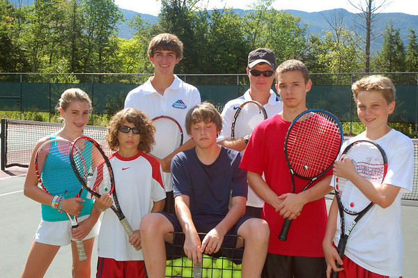 wk. of Aug. 23rd- Tennis Camp