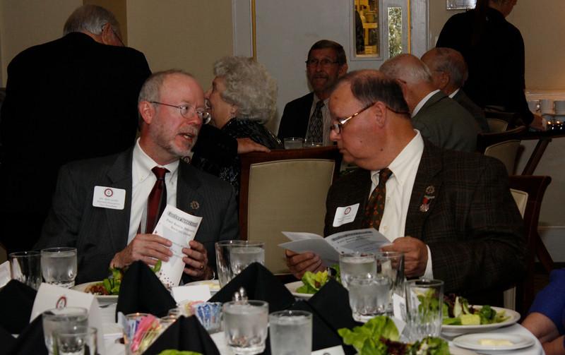 Dr. Ben Leslie and C. Neal Alexander, Jr.