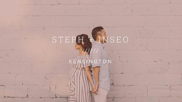 STEPH + INSEO ////// KENSINGTON