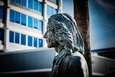 Escultura de John Lenon en Tampa