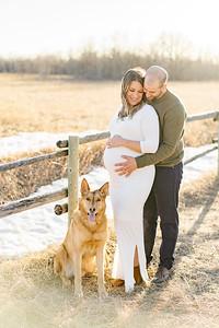 Marie-France & Travis Maternity