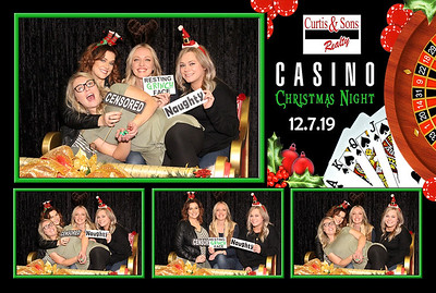 Curtis and Sons Casino Christmas Night