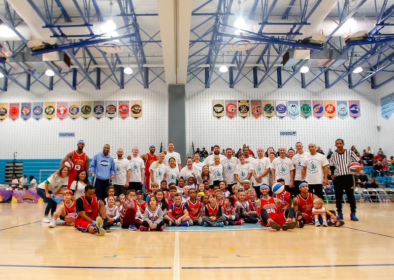 Harlem Wizards at Clarksburg HS 2018