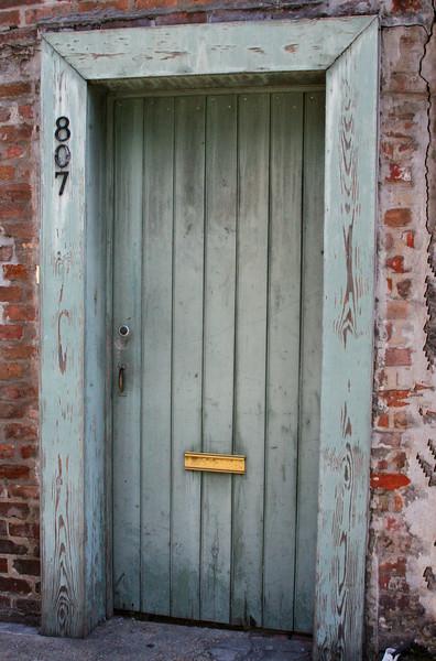 807 Door French Quarter, New Orleans, La.