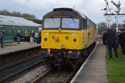 Bluebell Railway GBRf 15 Diesel Gala 16/4/16