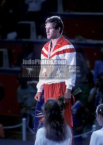 1984 Los Angeles Olympics 0808B6213 GOLD Seisenbacher AUT 86kgs