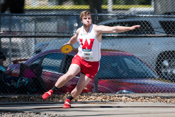 Western Oregon University Throwers - GNAC championships