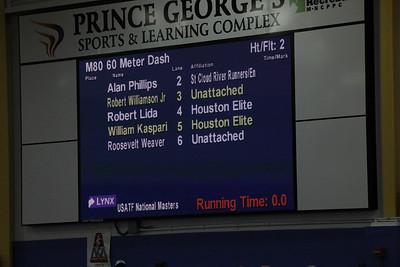 USATF 2018 MASTERS M60m