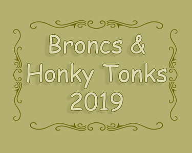 MHES Broncs & Honky Tonks 2019