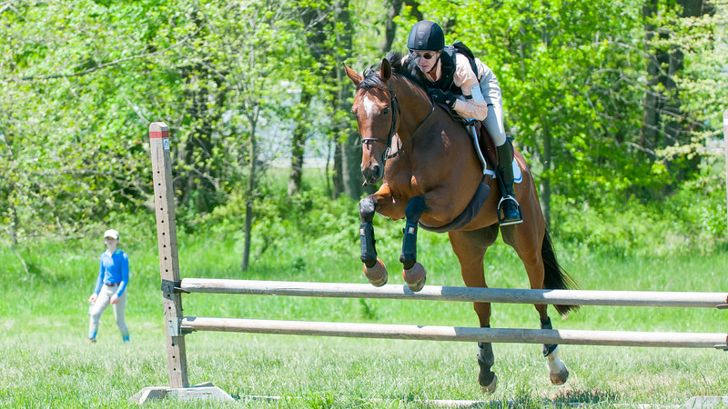 Liz and Buddy at Shawan Downs PRACTICE