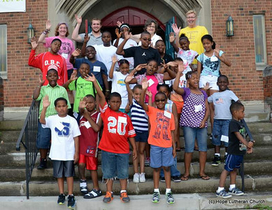 LOMO Outreach, Hope Lutheran, Cleveland Heights - June 24-28, 2013