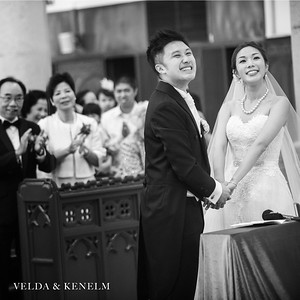 Wedding Day - Velda and Kenelm
