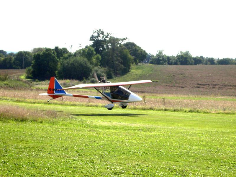 Declan landing his Mk111