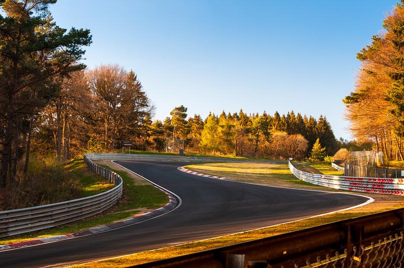 Nürburgring Nordschleife - Höhe Acht