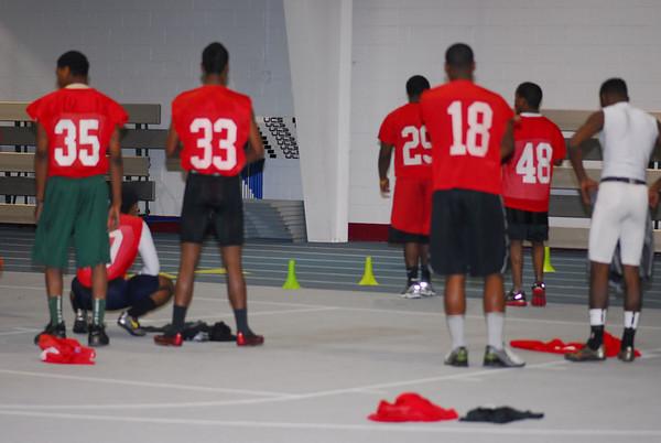 MLK Football Workout