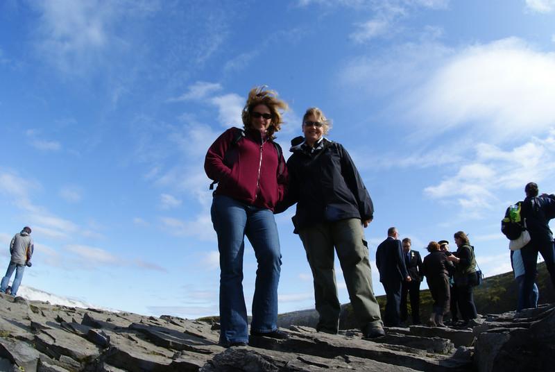The Attache and Jenni at Gullfoss.