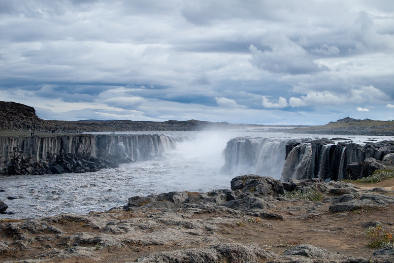 Upstream from Dettifoss is Selfoss (not to be confused with the town of Selfoss in south Iceland)