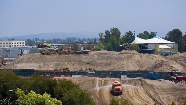 Disneyland Resort, Disneyland, Mickey, Friends, Parking, Structure, Frontierland, Critter, Country, Star, Wars, land, Construction