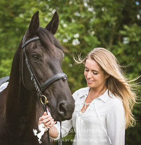 Friesian fun Kendelle & Georgie Jul 2016