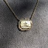 'In Hope' 18kt Yellow Gold Cast Pendant, by Seal & Scribe 10