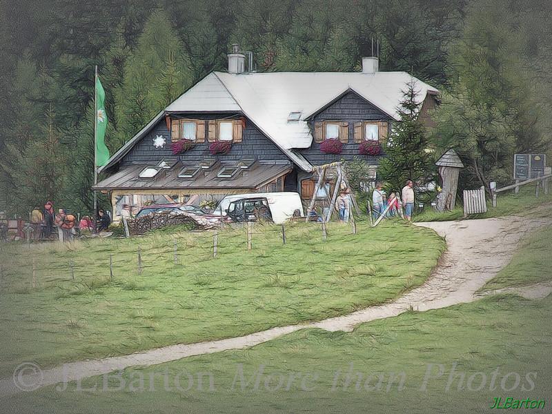 Mountain Cabin Edelweiss Hut on the Schneeberg, Lower Austria