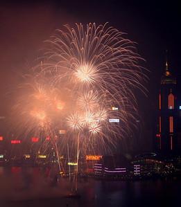 Fireworks, National Day 2005