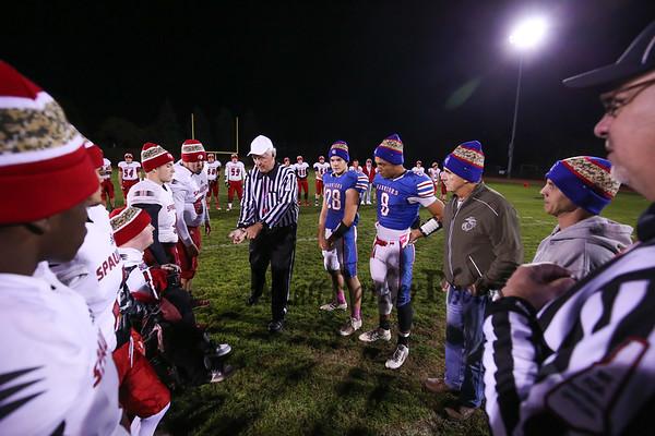 2016-10-14 WHS Football vs Spaulding High School