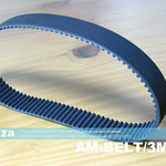 SKU: AM-BELT/3M/300, 300-3M Trapezoidal-Tooth Timing Belt, Closed-loop 3M Pitch Elastomeric Timing Belt 300mm Length